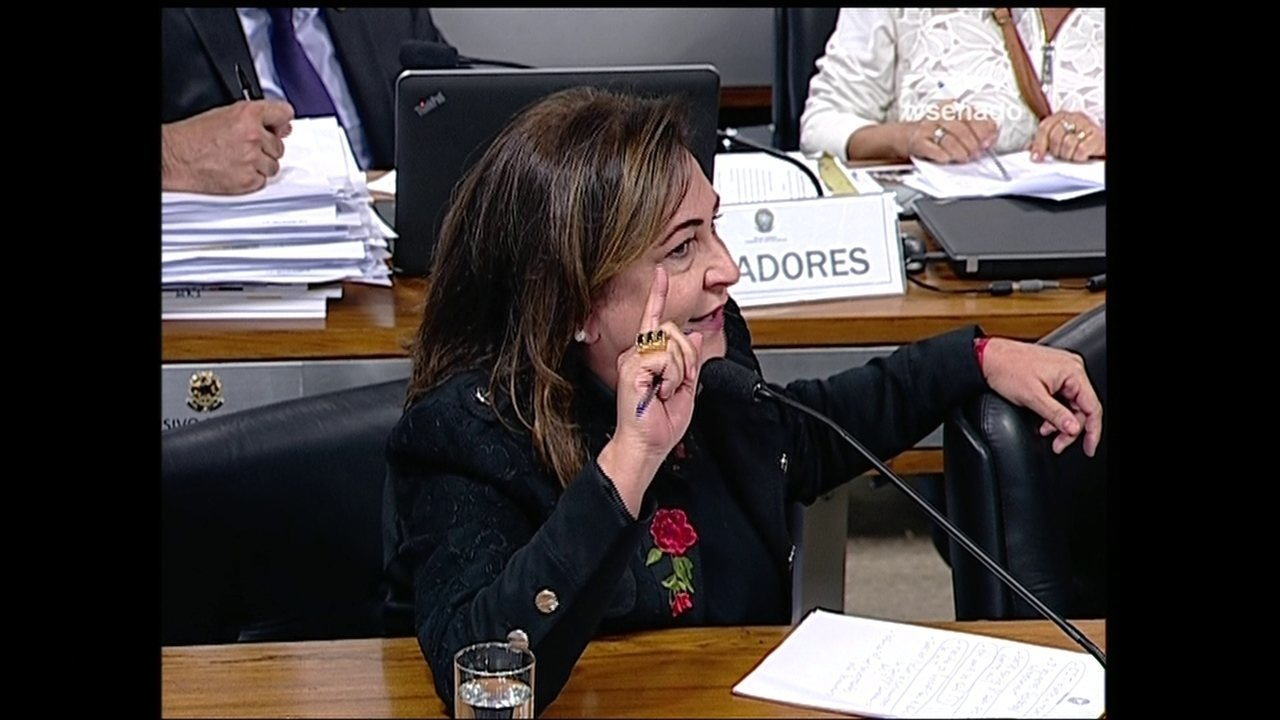 Kátia Abreu discute com Marta Suplicy