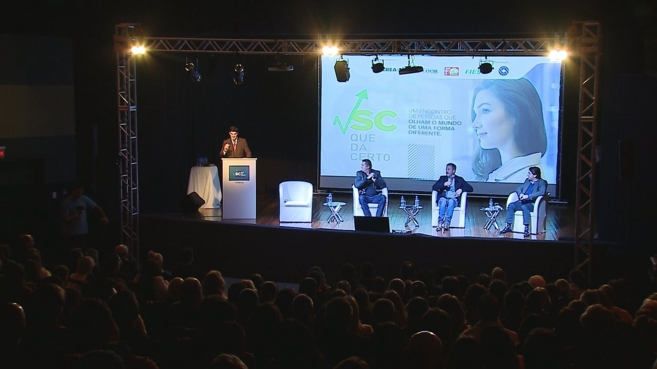 'SC Que Dá Certo' realiza painel em Videira; assista na íntegra