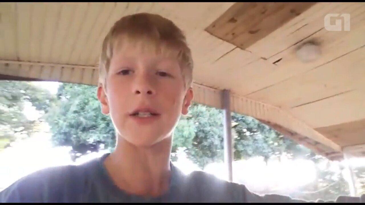 Paranaense de 12 anos faz vídeos sobre a vida no campo e viraliza na internet