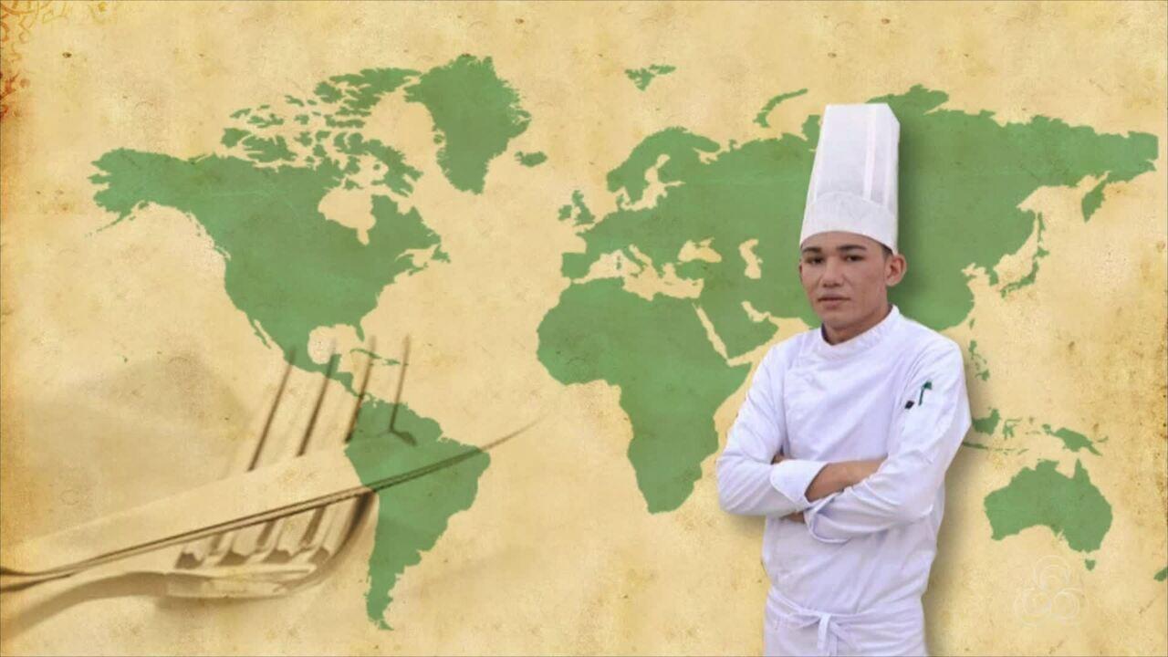 Acreano representou o Brasil em congresso internacional de culinária