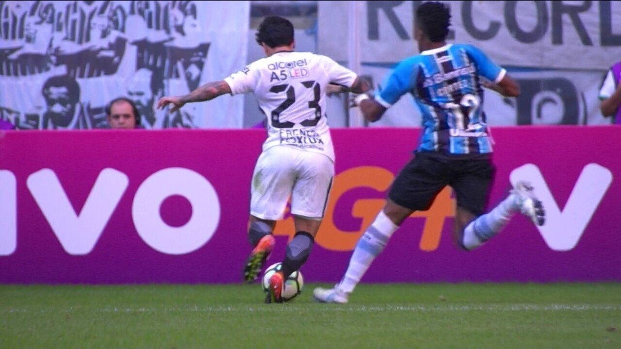 Melhores momentos  Grêmio 0 x 1 Corinthians pela 10ª rodada do Brasileirão 5d3b00d71d948