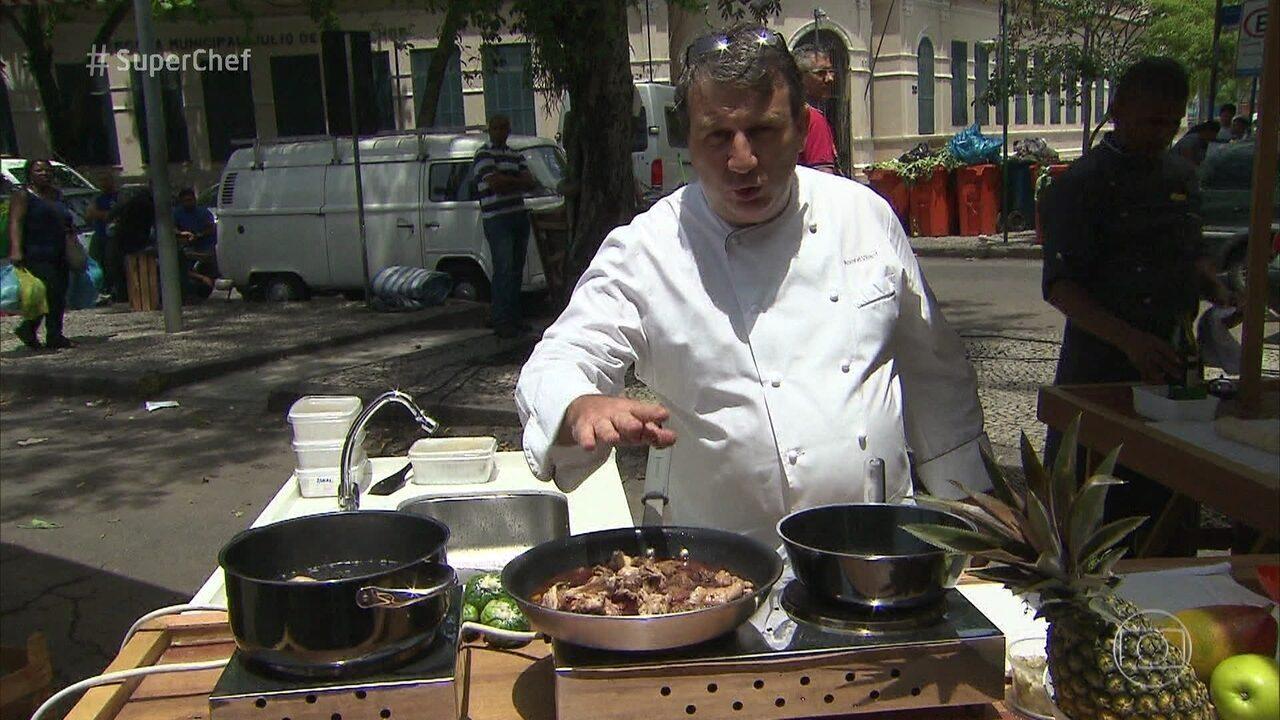 Roland Villard é o jurado fixo desta temporada do Super Chef Celebridades