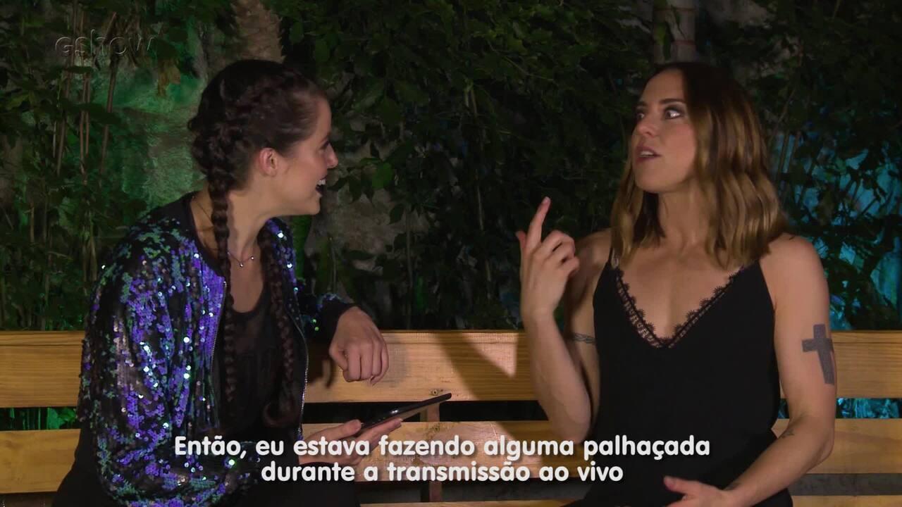 Fã das Spice Girls, Agatha Moreira entrevista Melanie C