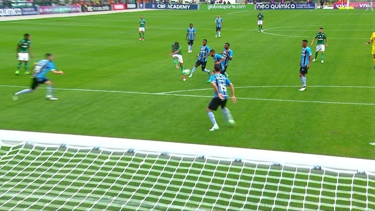 Melhores momentos: Palmeiras 1 x 0 Grêmio pela 11ª rodada do Brasileirão 2017