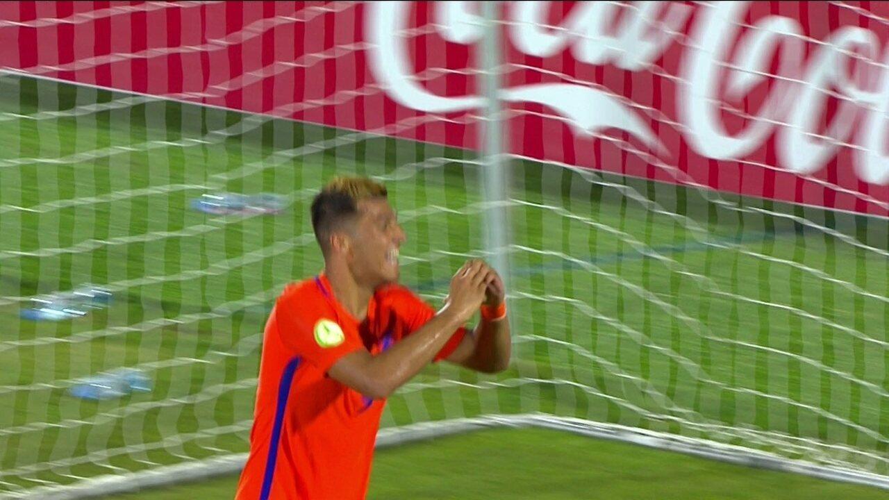 Os gols de Alemanha 1 x 4 Holanda pela Eurocopa Sub-19