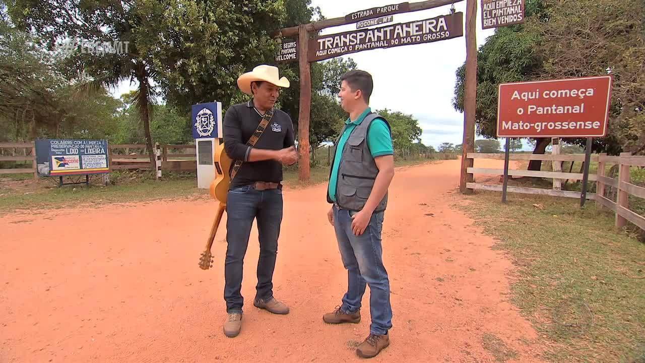 Rotas Naturais: Adriano Soares leva Johnny Everson ao pantanal pra ver a onça pintada - 01