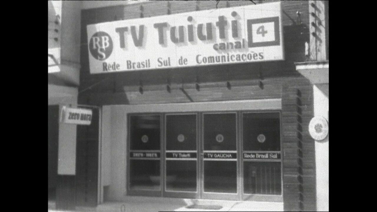 Reveja parte da história da RBS TV Pelotas