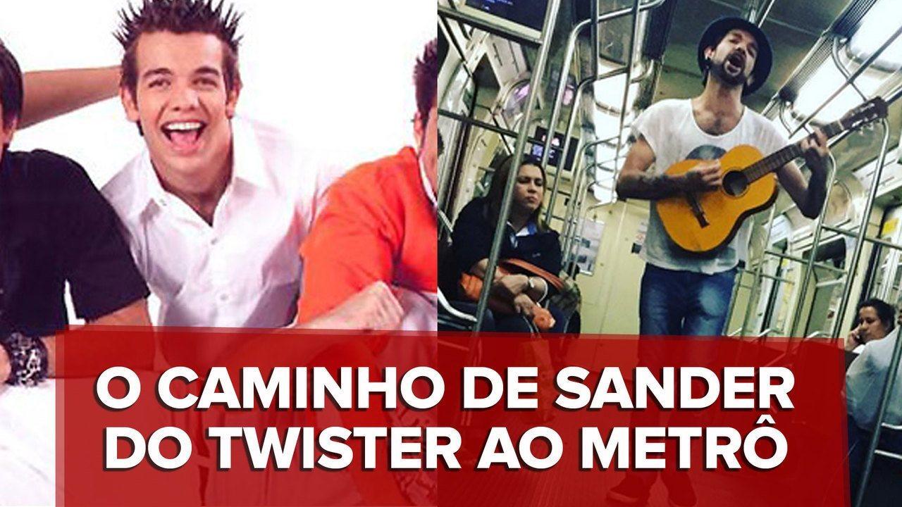 Sander: do Twister ao metrô