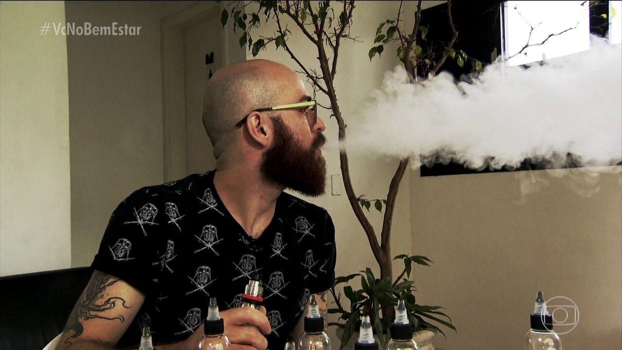 Teste mostra que índice de nicotina em cigarro eletrônico é o mesmo do cigarro comum