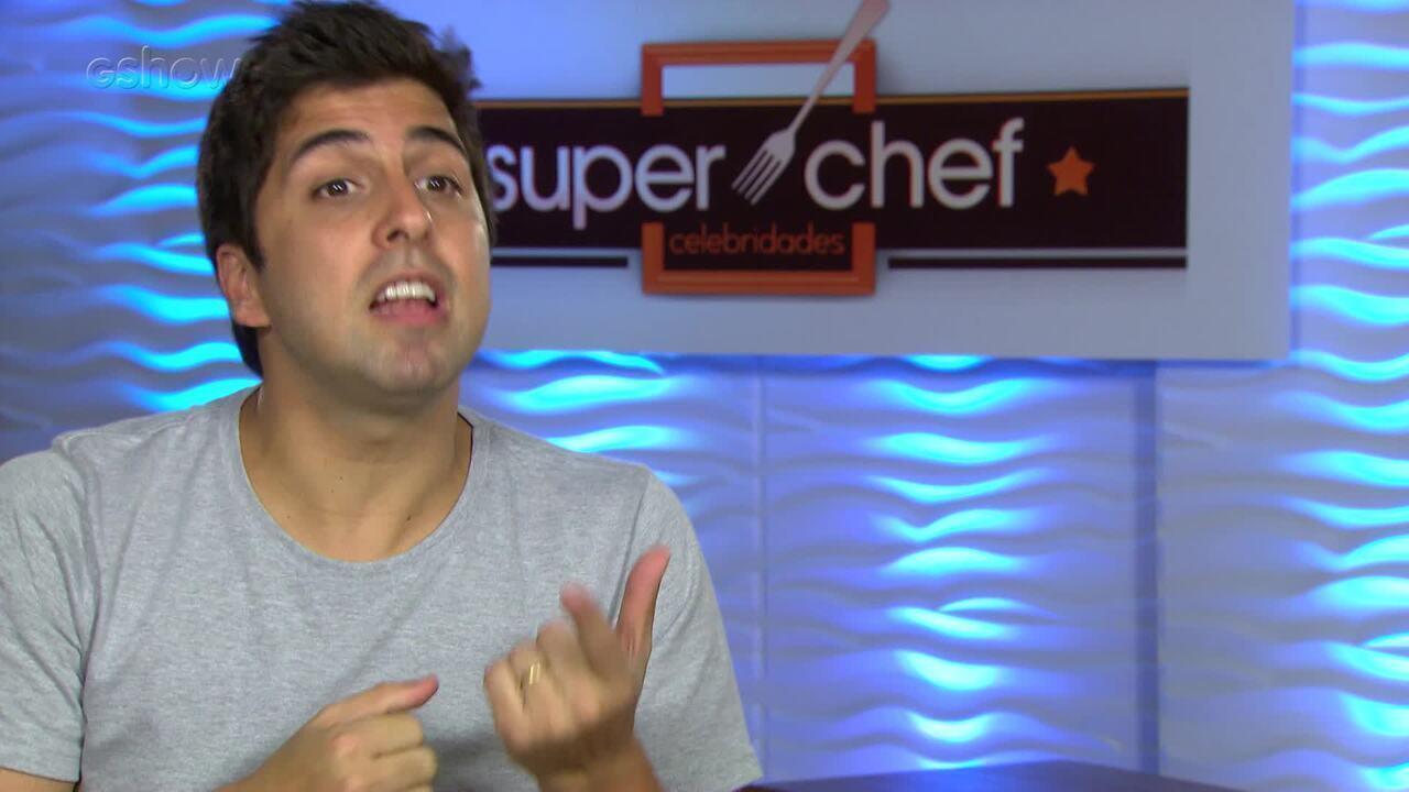 Gabriel Louchard revela comida que lembra sua infância