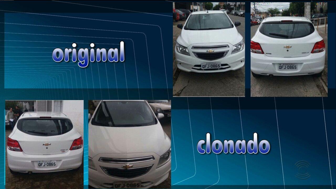Policiais de CG investigam esquema de carros clonados entre Paraíba e Pernambuco