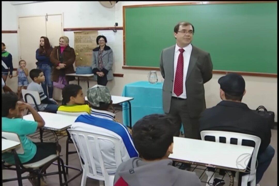 Projeto Justiça na Escola  é desenvolvido em Uberlândia