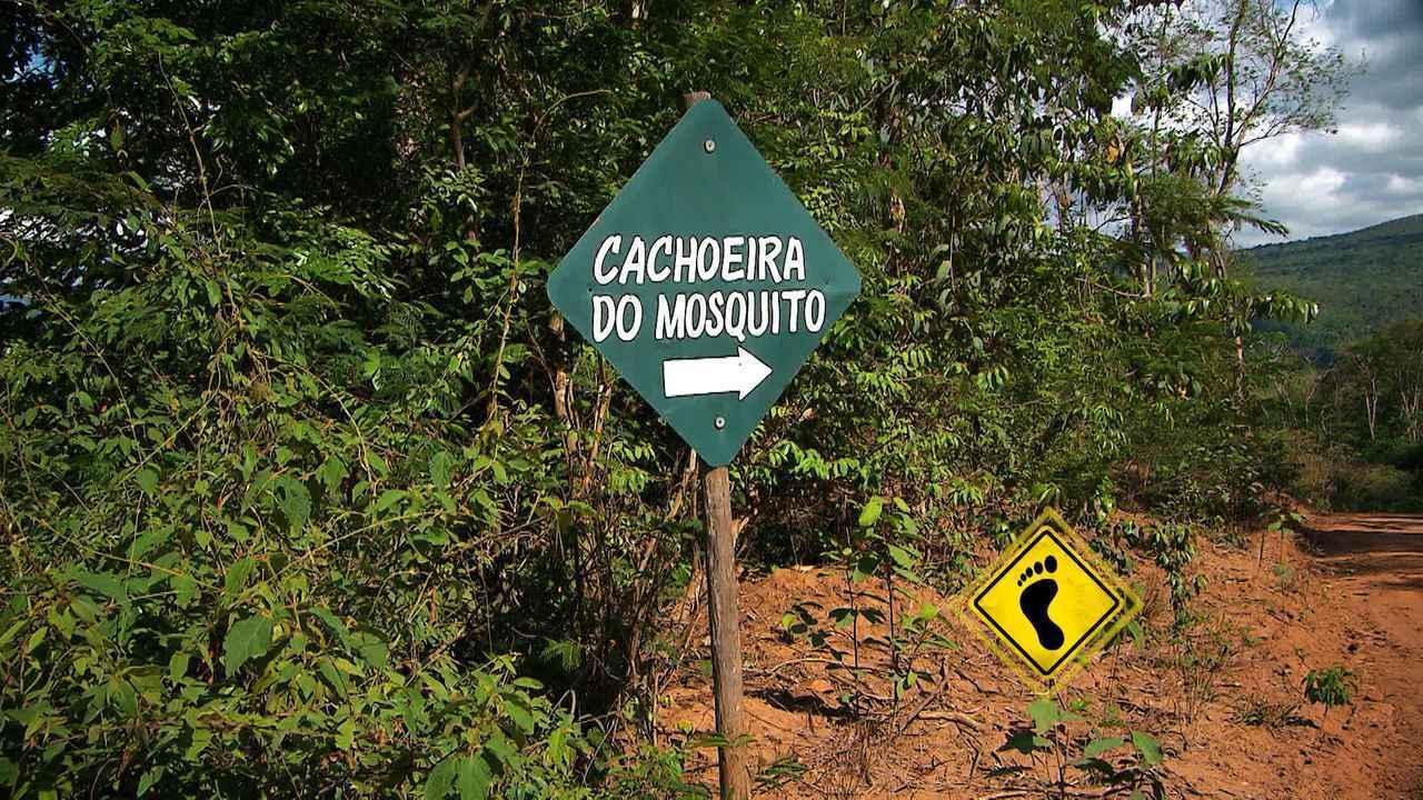 'Pé Na Pista' vai até a Cachoeira do Mosquito em Lençóis