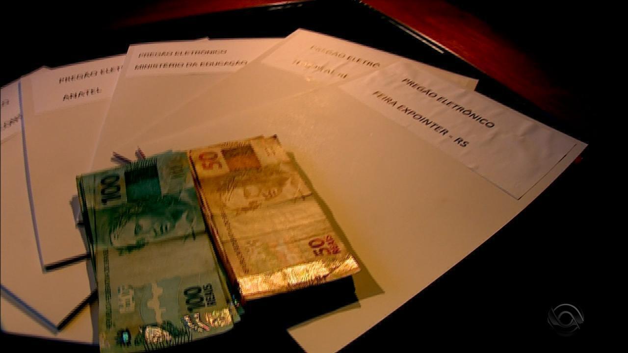 Empresas teriam formado cartel para fraudar licitações de órgãos públicos do RS