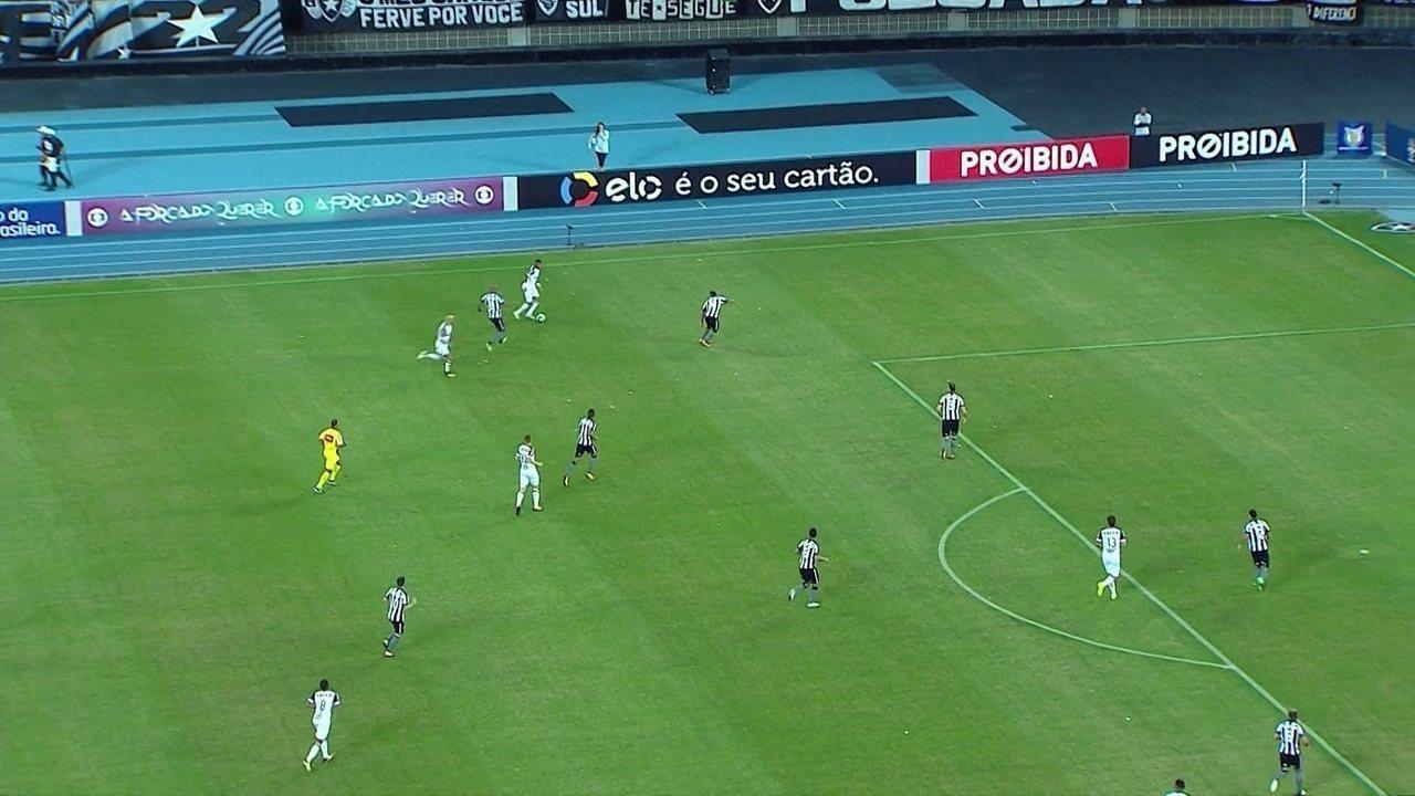 Melhores momentos de Botafogo 1 x 1 Atlético-MG pela 12ª rodada do Brasileirão 2017