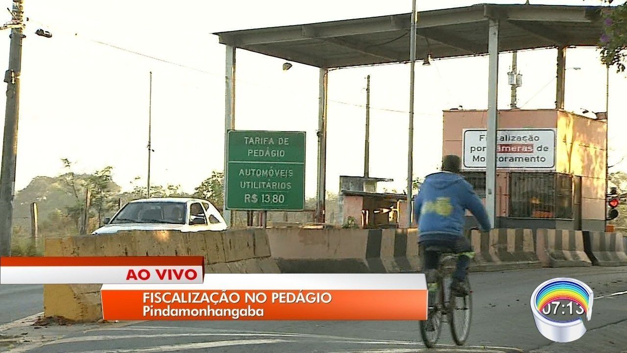 Pinda inicia fiscalização contra evasão de pedágio