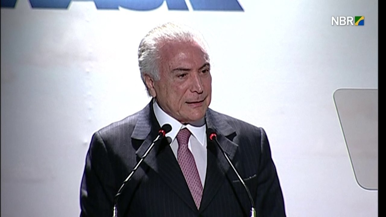 'Meu governo tem plantado muito para mudar o rumo do país', diz Temer