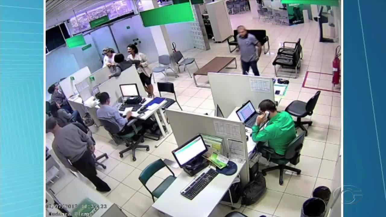 Imagens do furto ocorrido em sede da Unimed do Farol são divulgadas