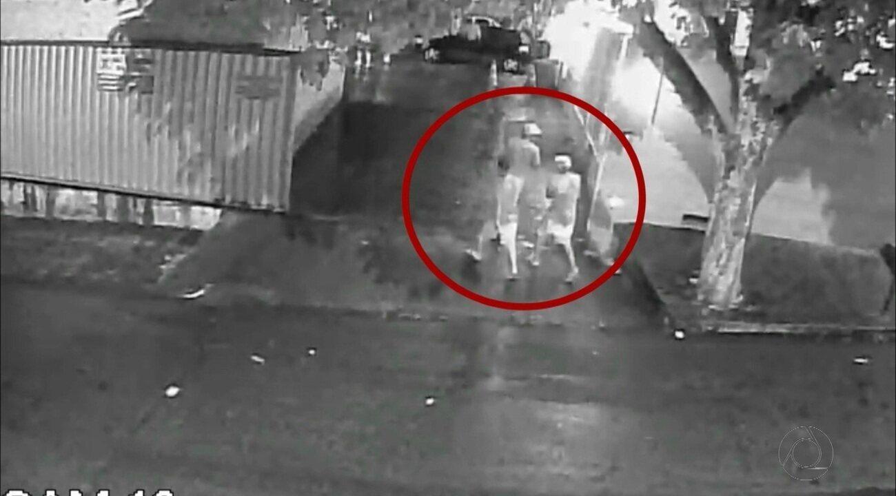 Circuito de segurança mostra tiroteio no bairro Mandacaru, João Pessoa
