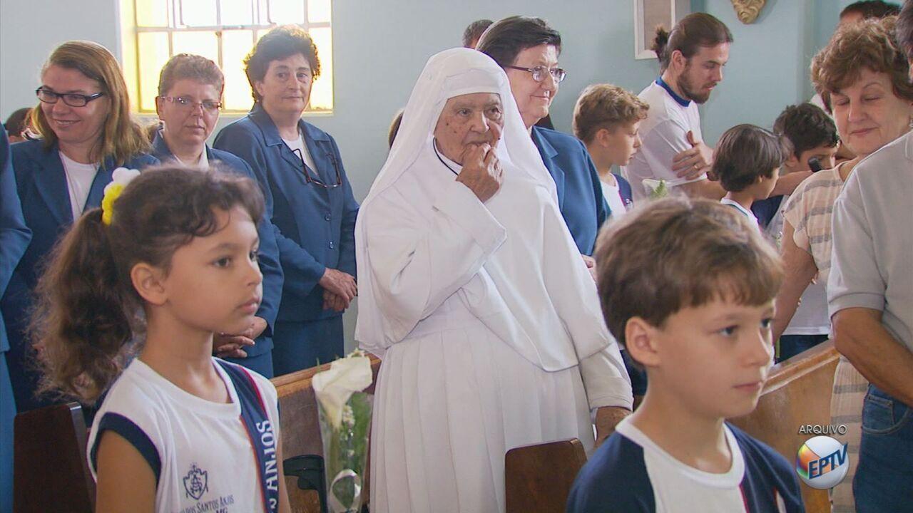 Irmã Noemi, uma das freiras mais velhas do país, morre aos 105 anos em Varginha (MG)