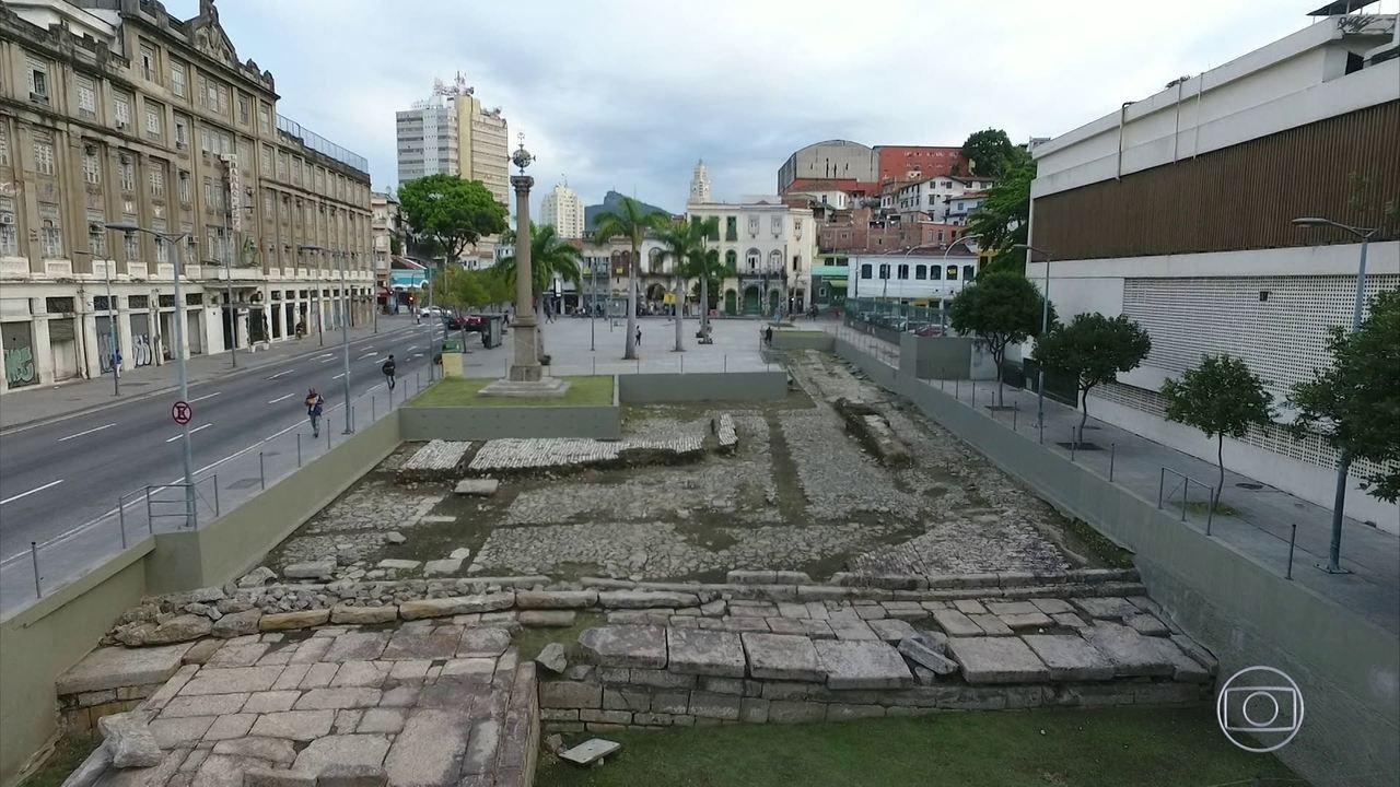 Cais do Valongo precisa de reparos para não perder título de Patrimônio Cultural Mundial