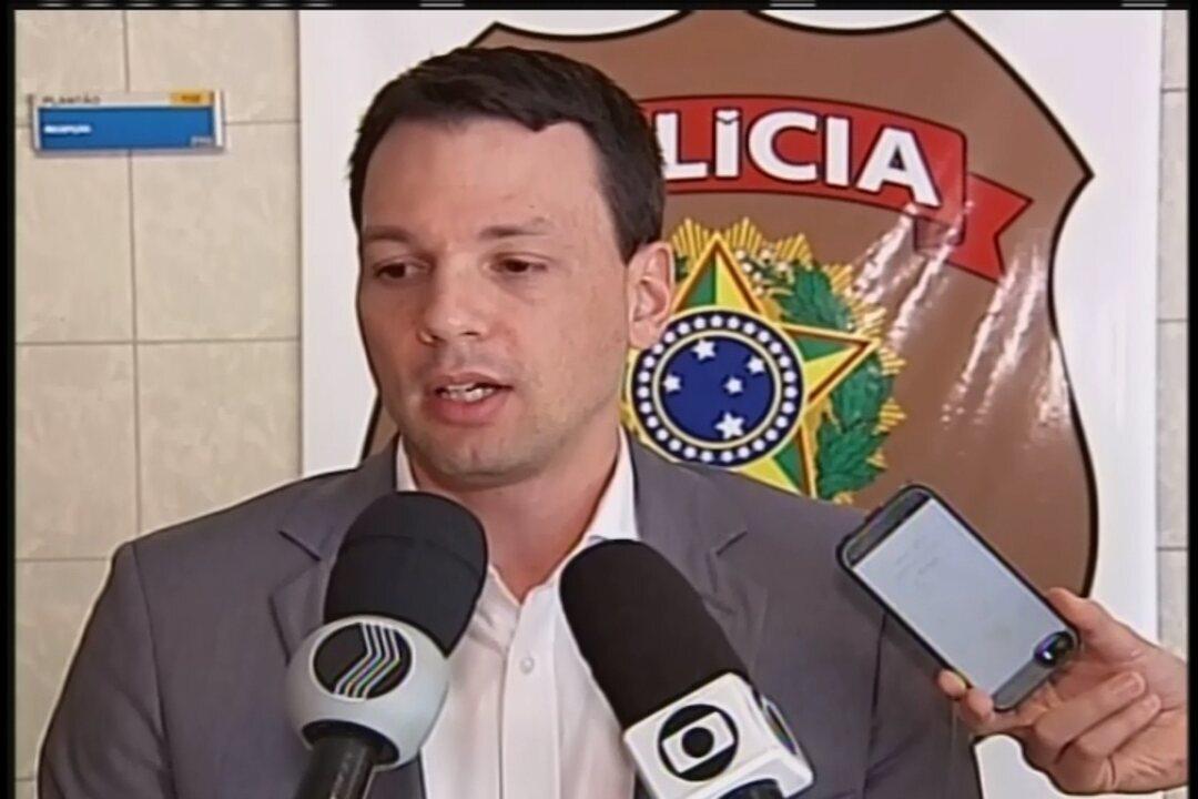 Delegado-chefe da Polícia Federal em Uberaba, Marcelo Xavier, fala sobre o caso