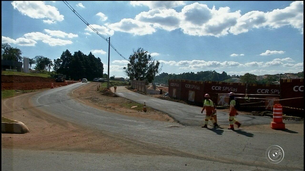 Nova desvio é implantado na rodovia João Mellão na região de Avaré