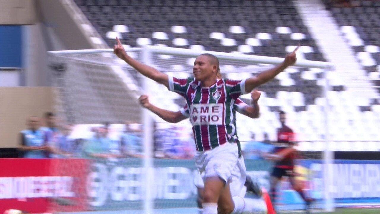 Os gols de Wellington Silva pelo Fluminense