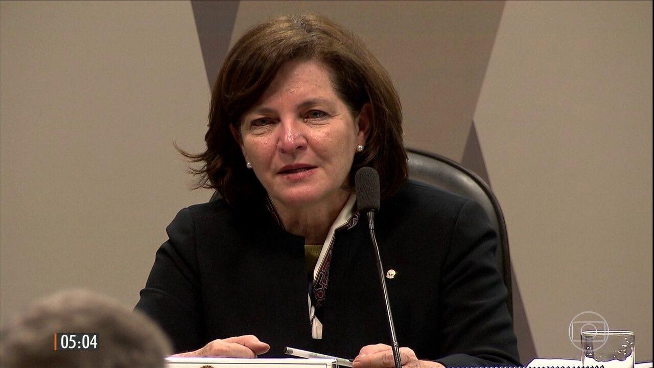 Senado aprova indicação de Raquel Dodge para assumir a PGR e suceder Janot