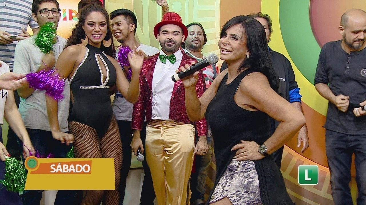 'Cassino do Oyama' recebe Gretchen e TPA