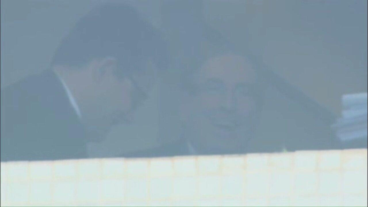 Eduardo Cunha chega à PF para prestar depoimento