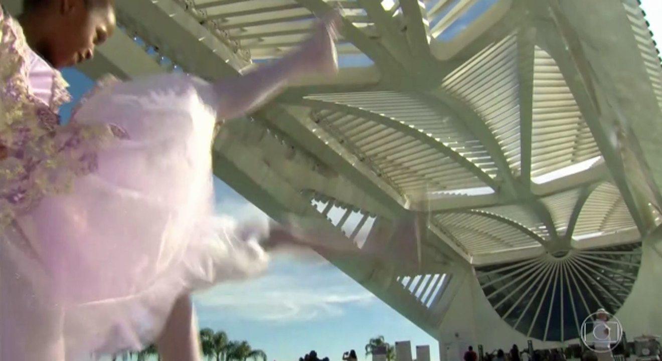 Meninas bailarinas do Alemão em busca do sonho