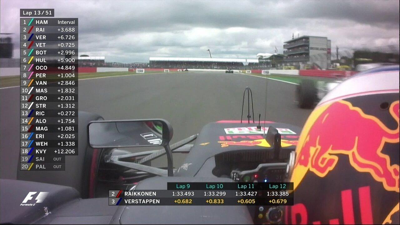 Ricciardo ultrapassa Stroll