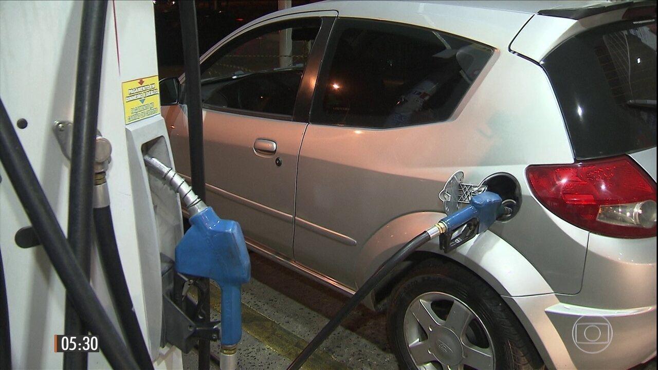 Aumento de imposto deve elevar em 7% o preço dos combustíveis para o consumidor