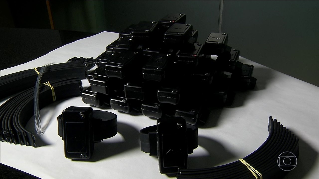 Tornozeleira eletrônica está em falta em quatro estados e no DF