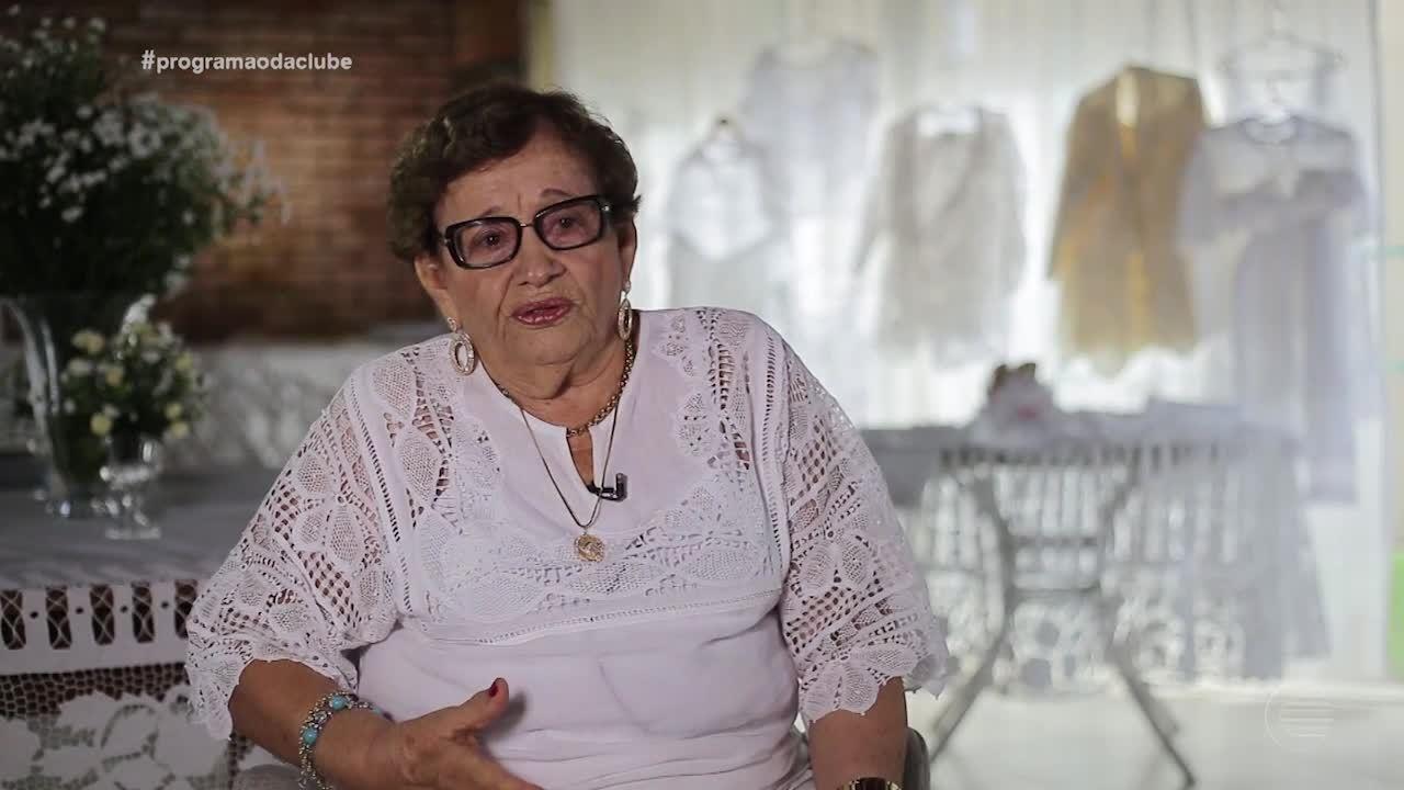 Senhora de 92 anos 'Manda Ver' na arte do bordado. Confira!