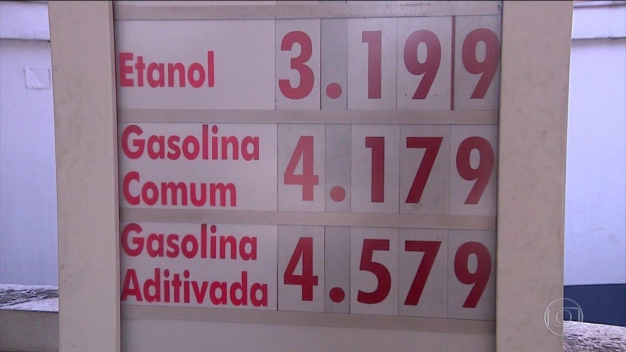 835b8ed7cf Preço da gasolina tem reajuste em postos após governo aumentar impostos