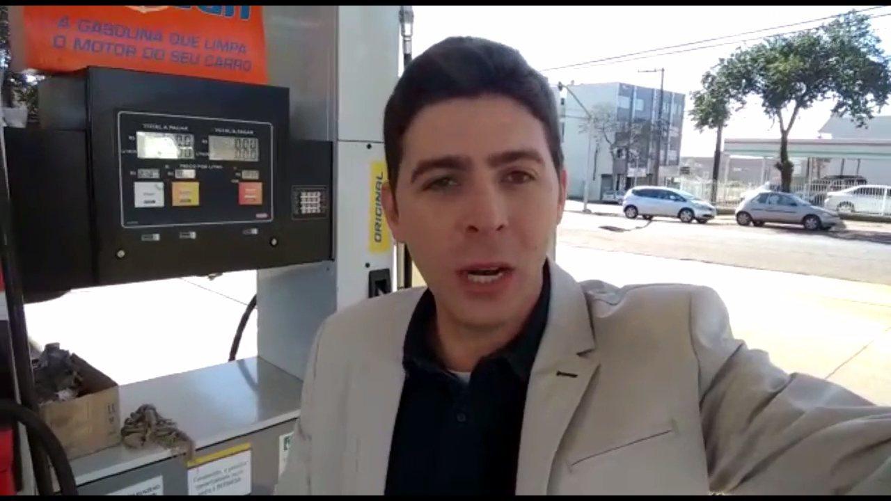 Motoristas fazem filas em postos de gasolina em que ainda não houve reajuste