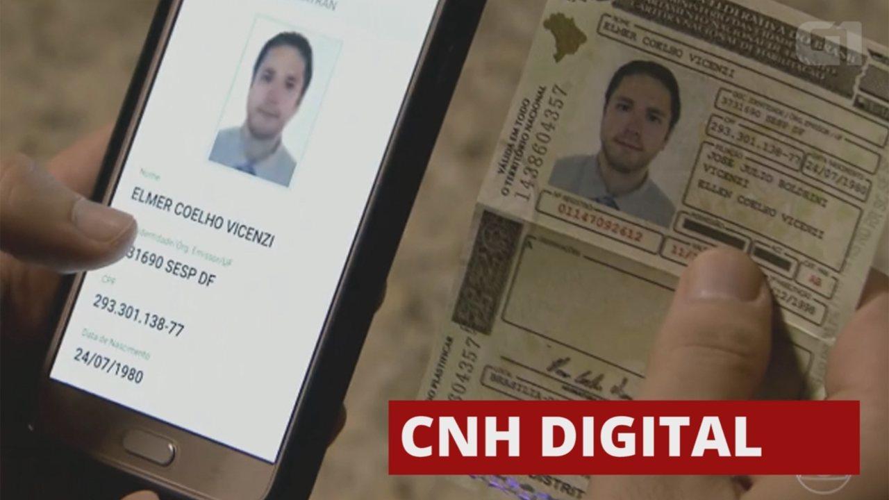 Saiba como será a CNH digital