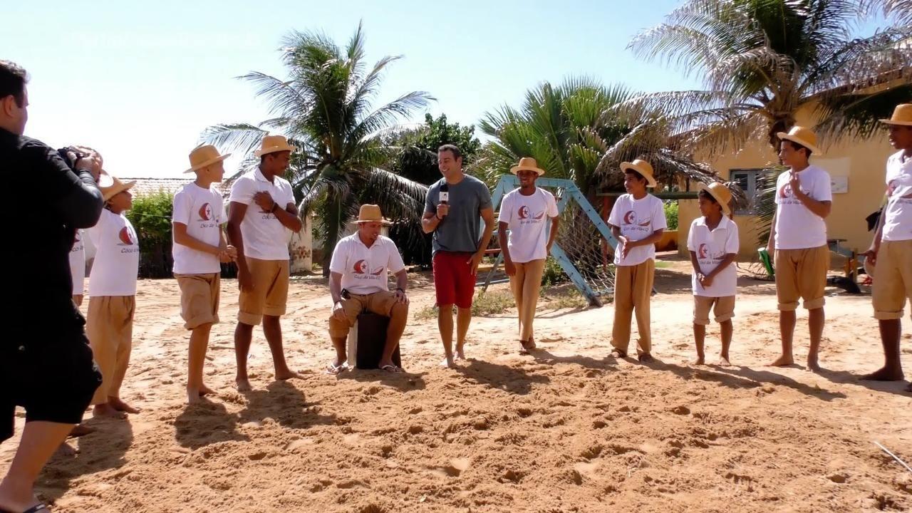 #Partiu visita Canoa Quebrada