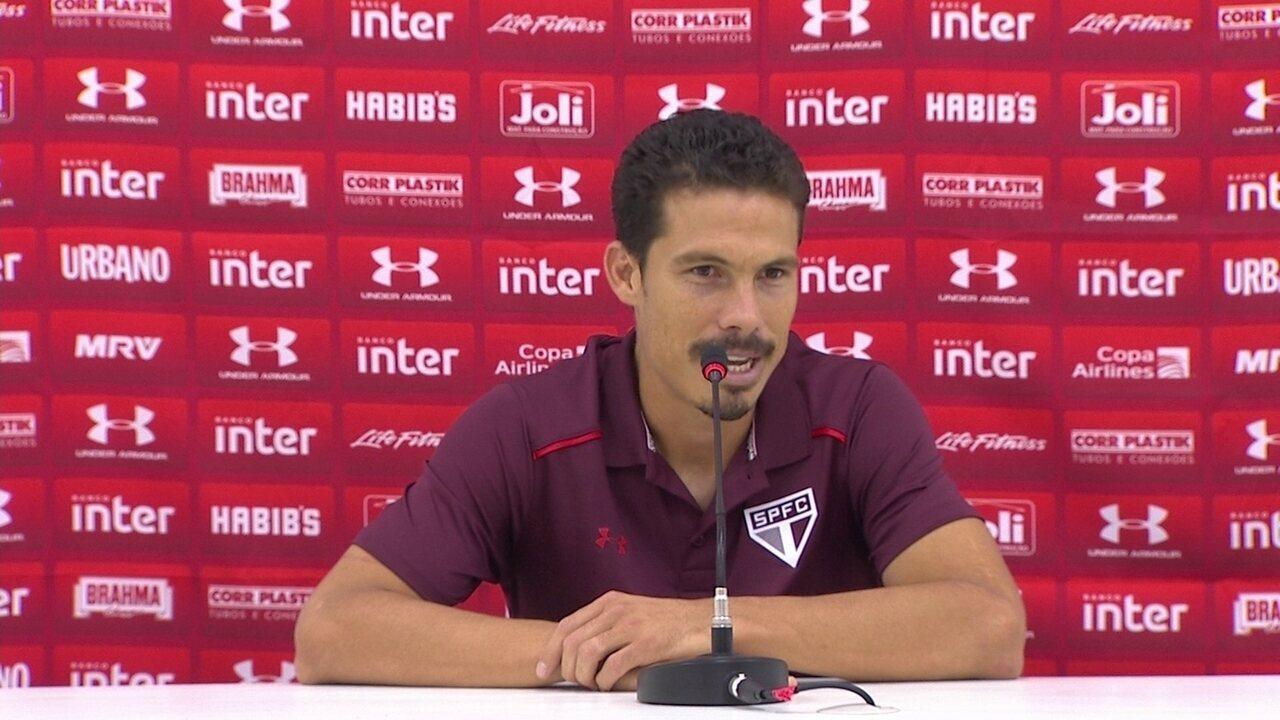 Hernanes festeja vitória do São Paulo e diz que time vai embalar
