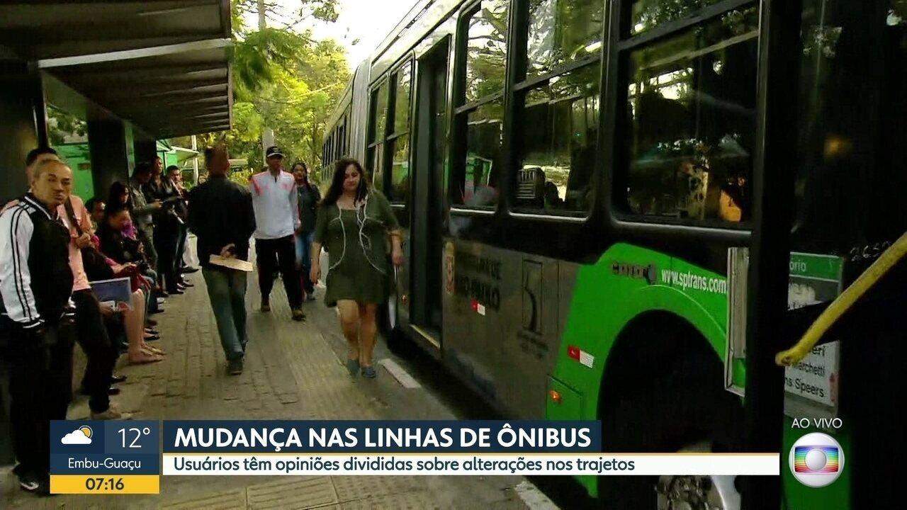 Mudanças de trajeto de linhas ônibus aumentam custo das viagens e preocupa passageiros