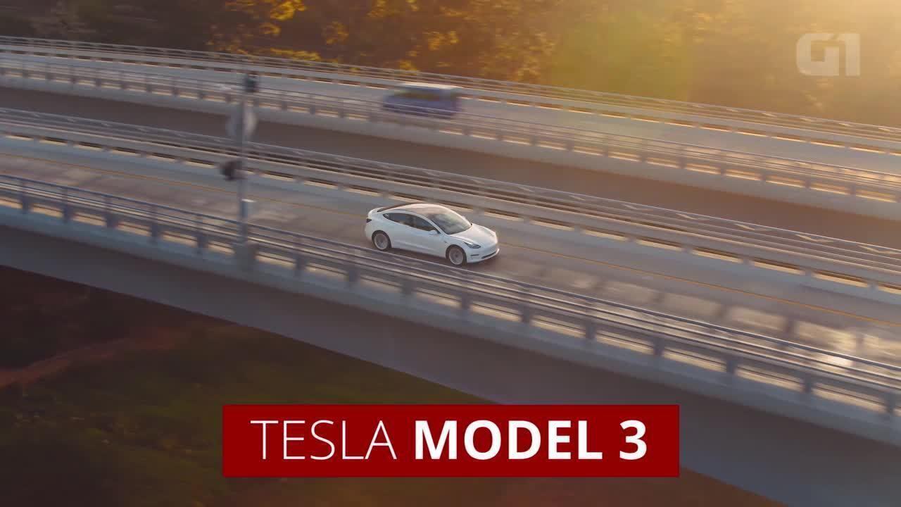 Tesla entrega primeiras unidades do Model 3
