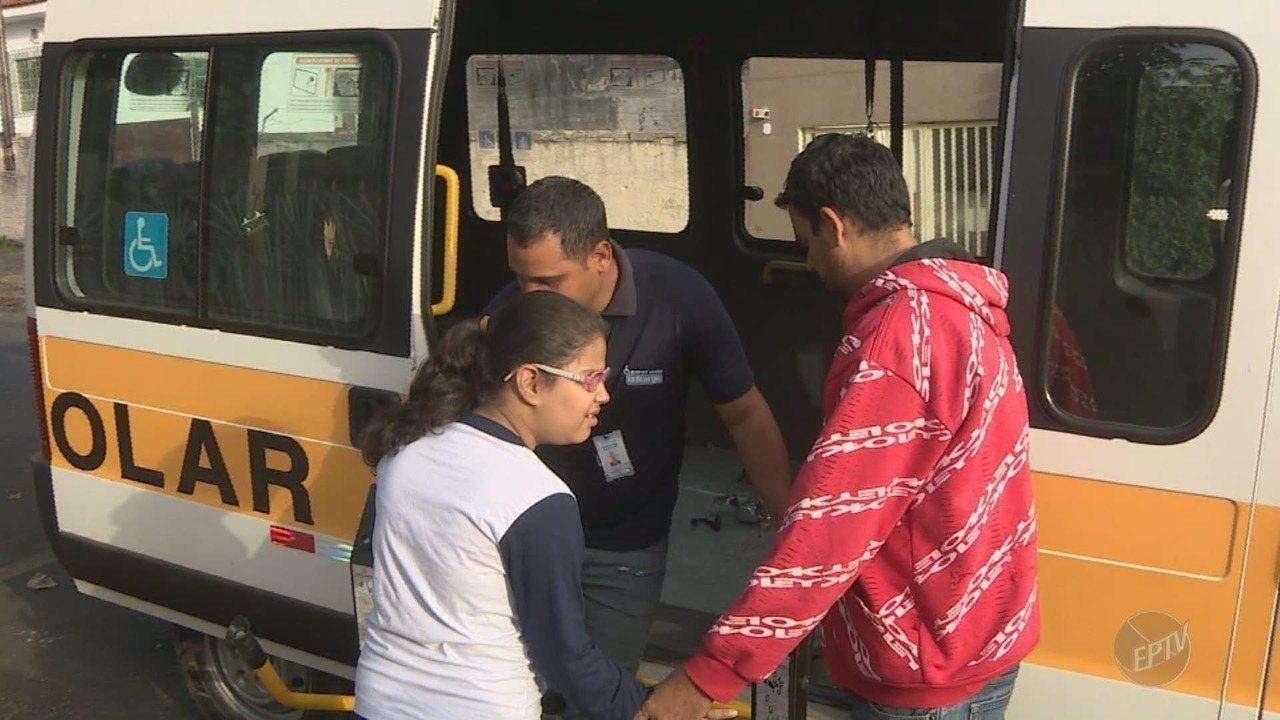 Prefeitura cancela o transporte adaptado para atividades complementares em Campinas