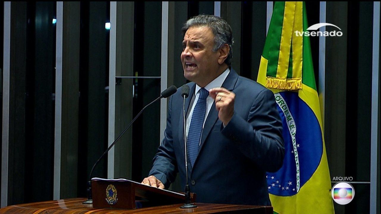 Decisão sobre o novo pedido de prisão de Aécio Neves, do PSDB, deve ser levada ao STF