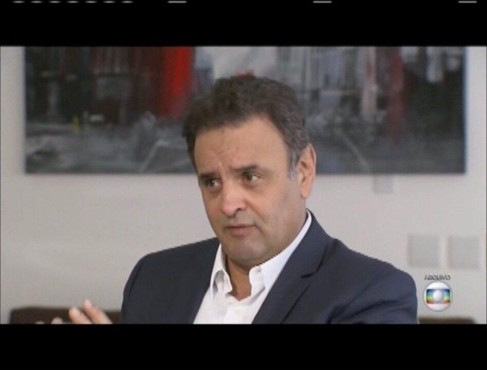 Procurador-geral da República pede novamente prisão de Aécio Neves