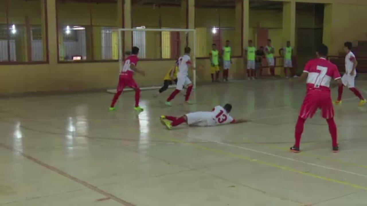 Times do interior vencem na rodada do Acreano de Futsal; 2ª divisão inicia nesta quinta