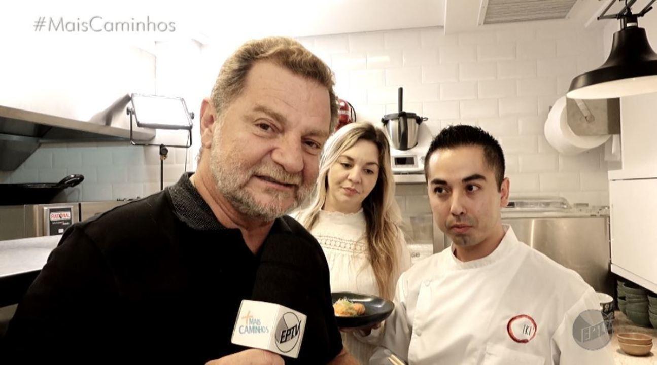 Fernando Kassab apresenta uma receita da culinária japonesa: salmão Nizakana