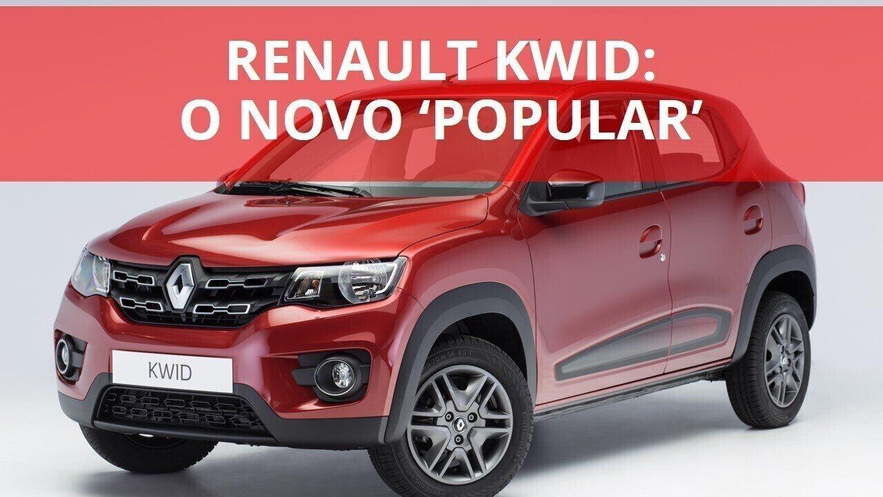 Renault Kwid quer ser o novo
