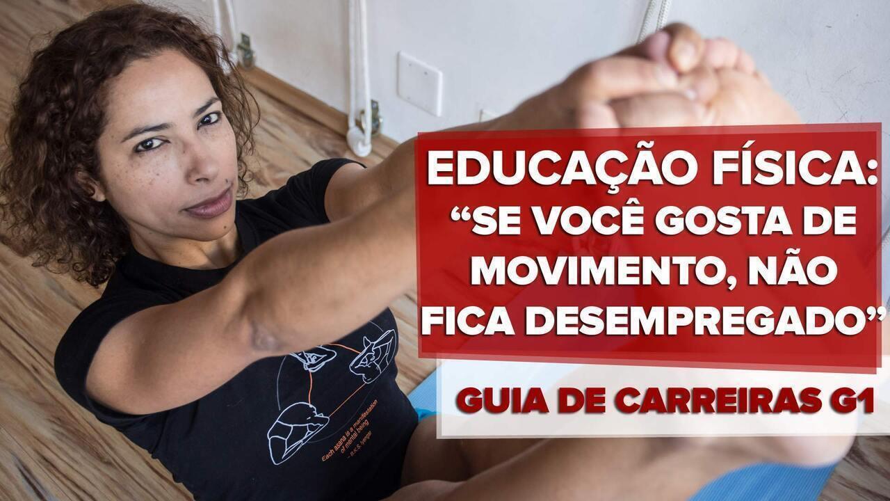 Guia de Carreiras - educação física: mercado 'fit' aumentam a procura pela carreira